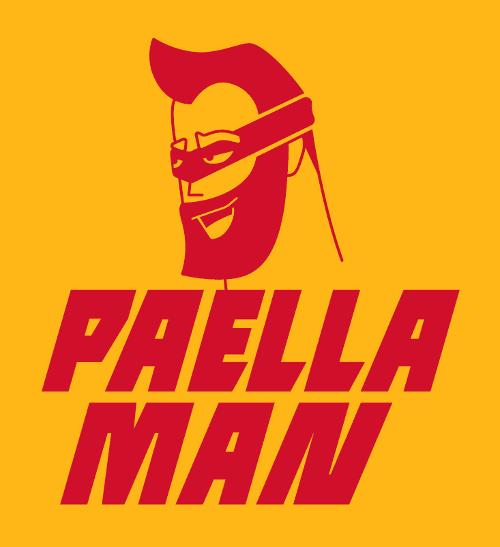Paella Man Logo