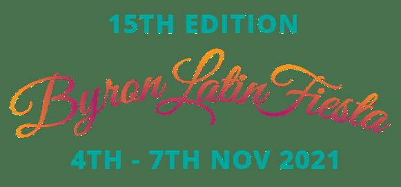 Byron Latin Fiesta 2021 Logo